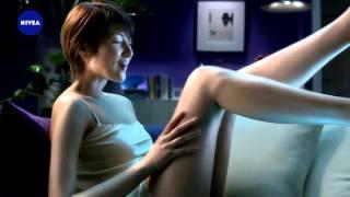 花王ニベア 吉瀬美智子さん お風呂に入ってお出かけ 吉瀬美智子 動画 7