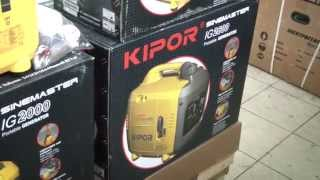 видео Инверторные генераторы Kipor