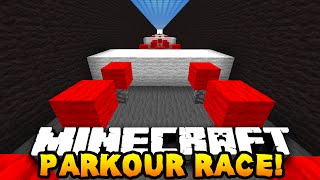 Minecraft 1v1 SPEED PARKOUR RACE! - w/PrestonPlayz vs Lachlan!