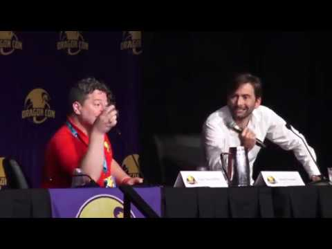"David Tennant at Dragon Con: ""Maybe I Should've Married Michael Sheen"""