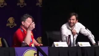 David Tennant Panel Dragon Con August 30, 2019.  Doctor Who, Good Omens
