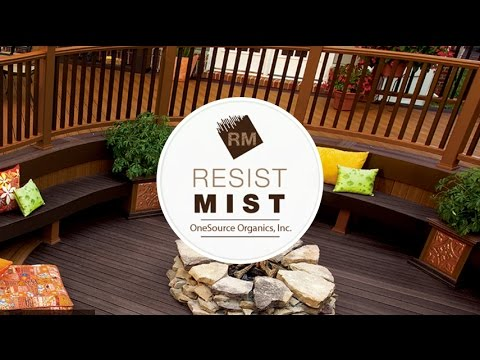 Resist Mist Composite Deck Cleaner and Sealer