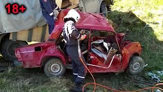 16.05.2018 ДТП на трассе Ижевск - Воткинск. 3 человека погибли (Удмуртия)