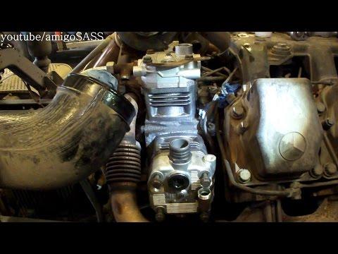 Замена компрессора Mrcedes Actros MP1,MP2 Air Compressor Replacement