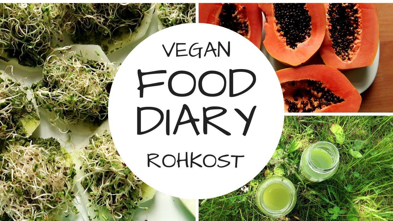 Nur eine feste Mahlzeit am Tag - 6 Tage vegan FOOD DIARY!