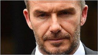 Beckham banned over phone fail