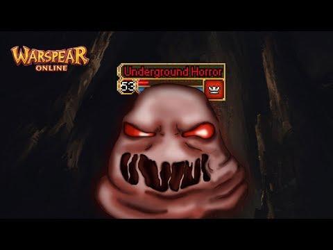 Босс 53 уровня с тремя полосками здоровья - Подземный Ужас мира Аринар ♦ Warspear Online