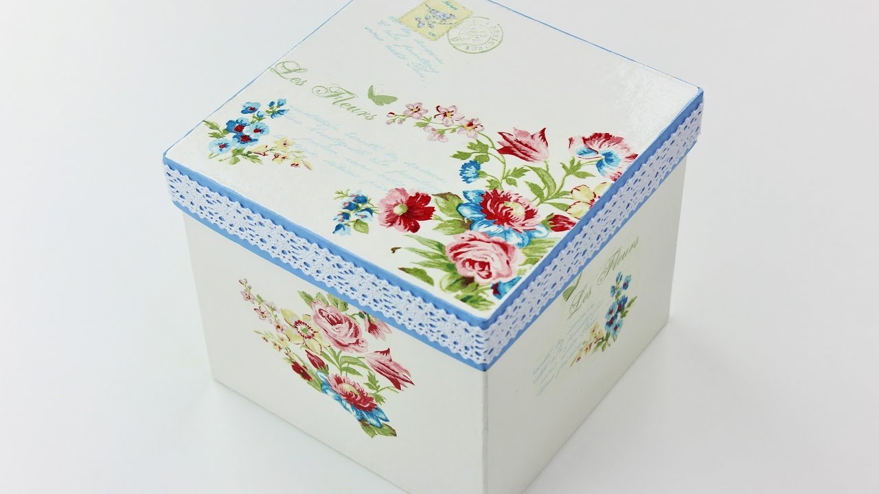 how to write on decoupage
