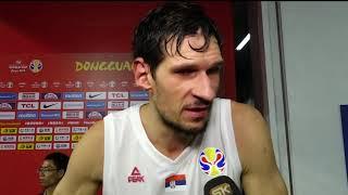 Boban Marjanović Nakon Trijumfa Protiv Amerike na Mundobasketu   SPORT KLUB Košarka