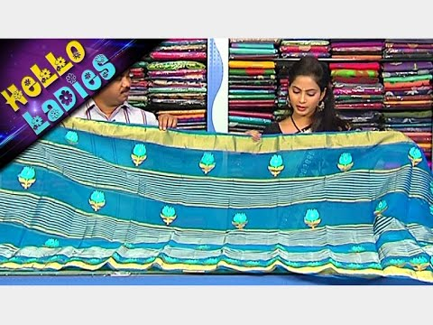 Latest Style Tussar Silk, Kota Silk & Cotton Sarees || Hello Ladies || Vanitha TV