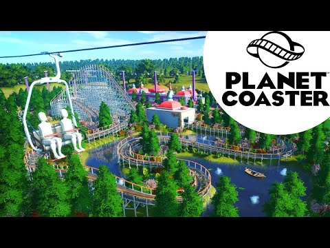 Let's Play Planet Coaster - Vintage Park - Episode 7 - Chairlift & Flat Rides |