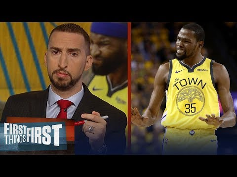 Warriors GM 2 loss to Clippers was the worst case-scenario - Nick Wright | NBA | FIRST THINGS FIRST