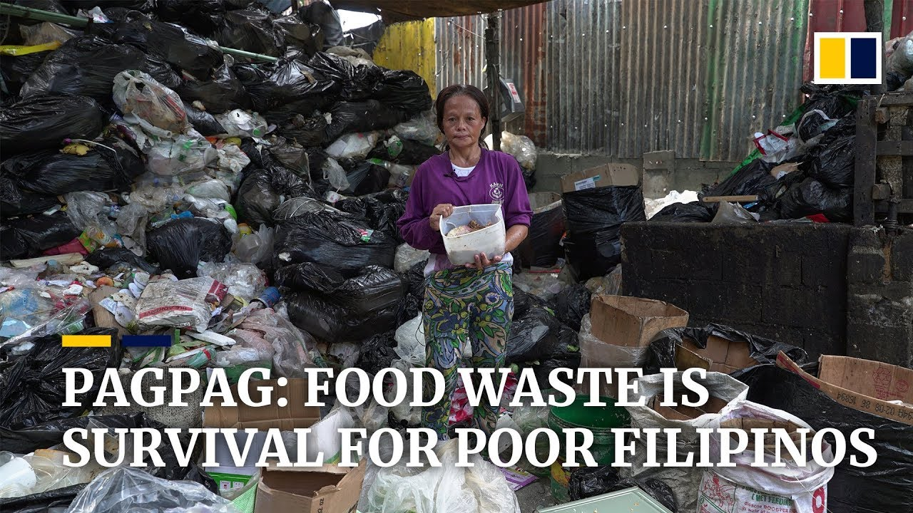 Restaurant waste served up as food called 'pagpag' by poor Filipinos struggling to survive