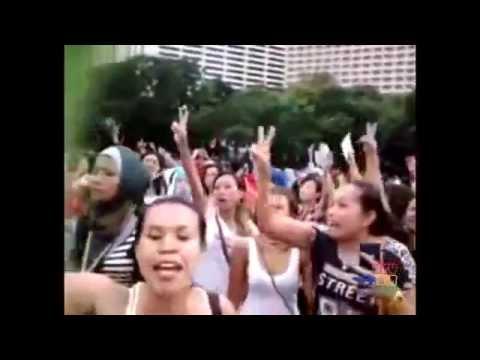 Kerusuhan TPS Hongkong (TKW NGAMUK !!!)