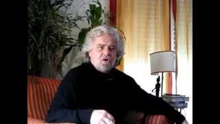 The wall street journal intervista Beppe Grillo a Verona.