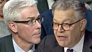 Senator Al Franken questions Facebook's Vice President and General Counsel, Colin Stretch, on why the social media giant allowed Russian ads, From YouTubeVideos