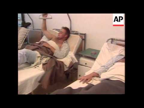 BOSNIA: CAPTURED BRITISH TROOPS APPEAR ON BOSNIAN SERB TV