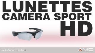 LUNETTES CAMERA SPORT HD GRAND ANGLE [secutec.fr]