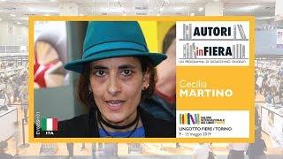 Cecilia MARTINO. Salone internazionale del libro di Torino, edizione 2019