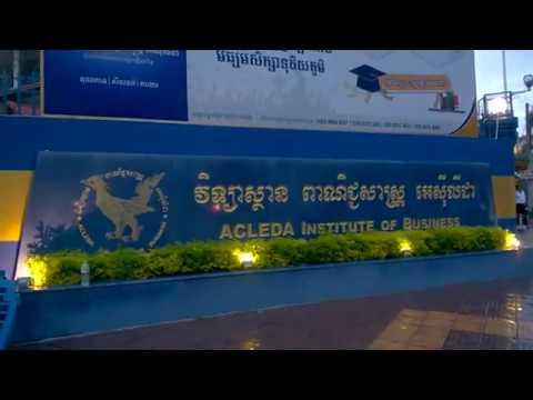 ACLEDA Institute of Business in Phnom Penh, Cambodia