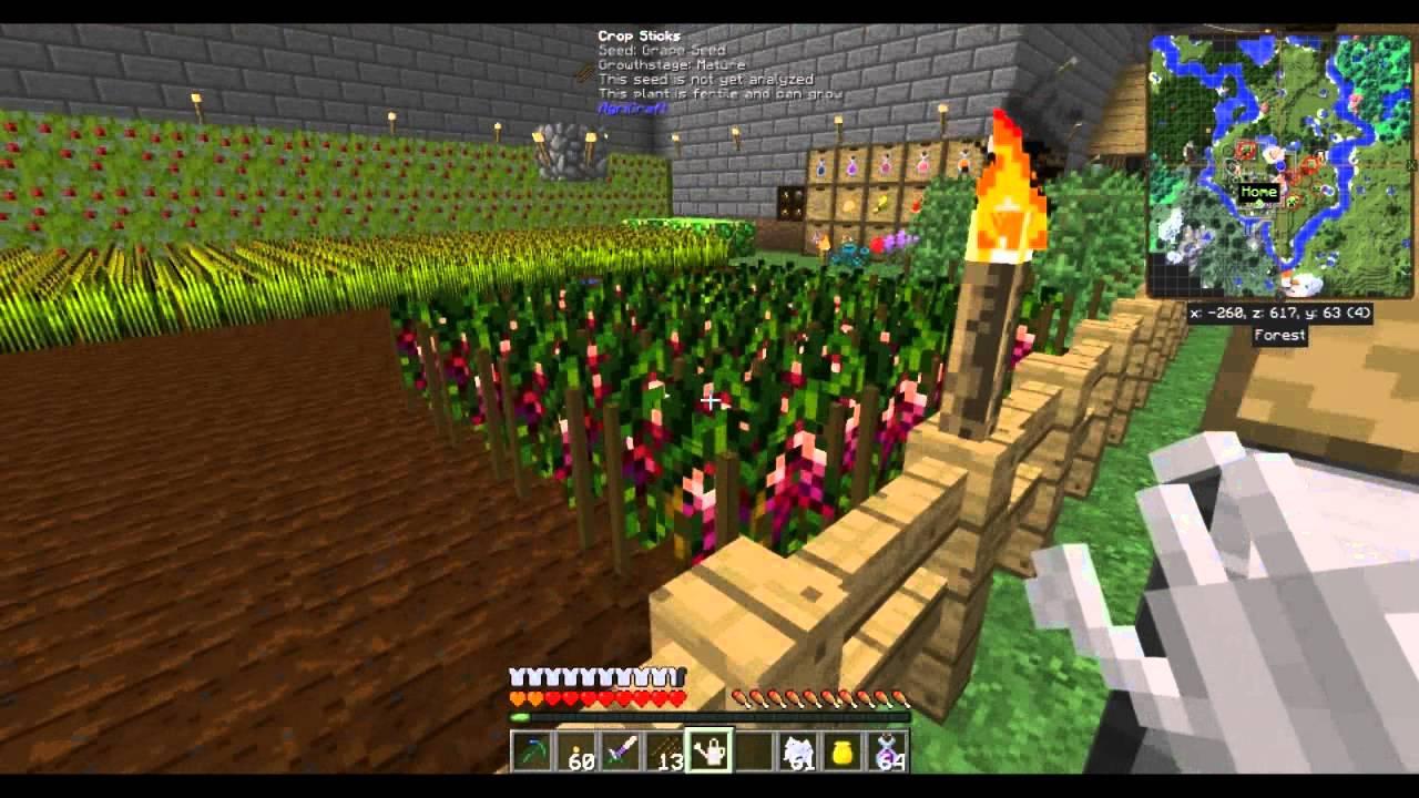 FTB Pam's Harvestcraft - 10 10 10 seeds - easy method by The KODO - Gaming  and Random Tutorials
