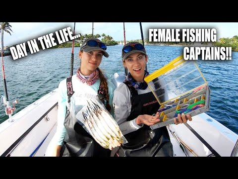 DAY IN THE LIFE OF FEMALE FISHING CAPTAINS 👩🏼✈️👩🏼✈️ Gale Force Twins