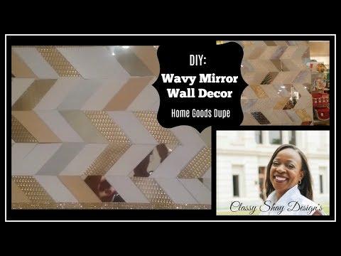 DIY: Wavy Wall Art/Home Decor - Dollar Tree Foam Board