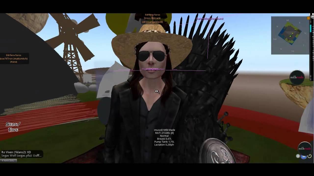 Dross Rotzank en Second Life - YouTube