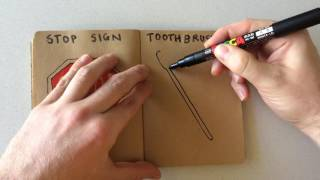 How to Draw a Tooth brush
