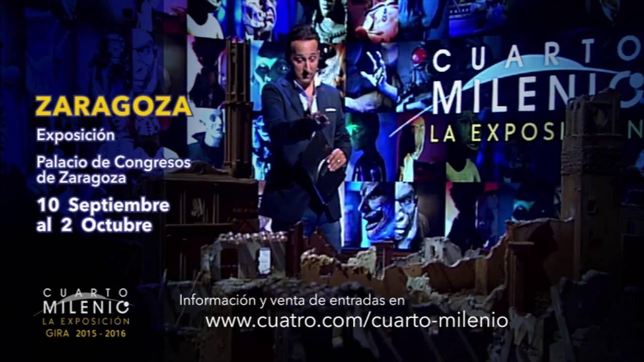 La exposición de Cuarto Milenio llega a Zaragoza - YouTube