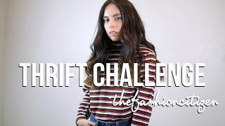 Thrift Challenge | The Fashion Citizen