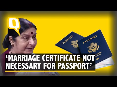 How to change surname in passport after marriage uk