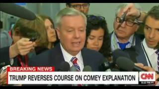 Rosentien tight lipped but makes it clear Trump made up his mind before Rosenstein wrote the Memo
