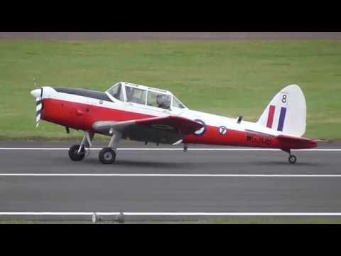 RIAT 2016 Civilian Scottish Aviation Bulldog and DHC-1 Chipmunk