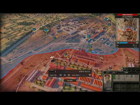 Steel Division  Normandy 44 VS IA Hard Colombelles |