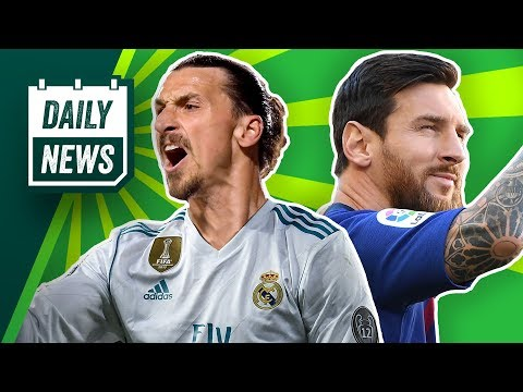 Zlatan Ibrahimovic als CR7-Ersatz zu Real?  Lionel Messi verletzt sich! FCB beobachtet Nabil Fekir!