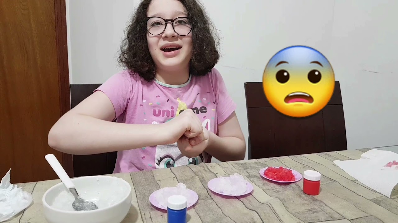 Como fazer papinha  para sua boneca super fácil e legal