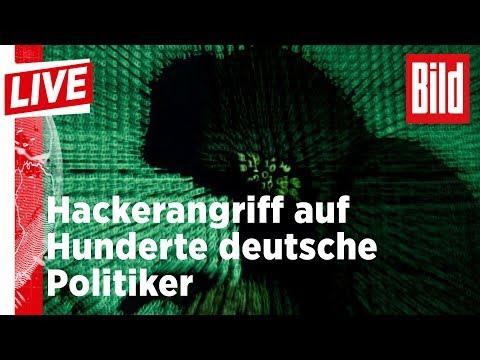 🔴 Hacker-Angriffe auf Hunderte deutsche Politiker I BILD Live