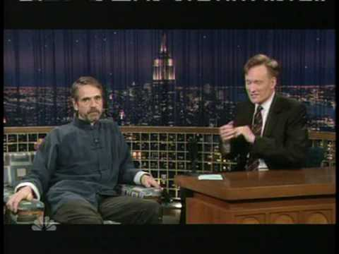 Jeremy Irons shares some child rearing advice