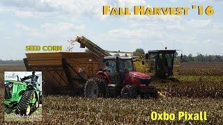 Gambar cover 2016 Seed Corn Harvest: Oxbo Pixall Harvesters