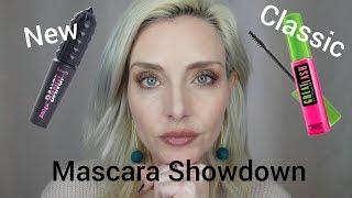 Benefit Bad Gal Bang vs Maybelline Great Lash New vs Classic Mascara Showdown