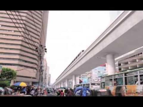 Metro Rail system Bangladesh