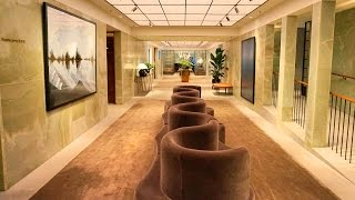 visiting the pier cathay pacific s first class lounge in hong kong