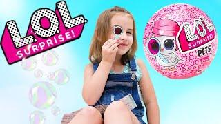 Новая кукла ЛОЛ Декодер Петс Как Алина играет в куклы