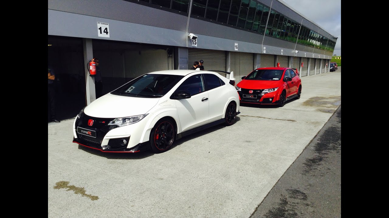2016 Honda Civic Type R (FK2) Drive at Mondello Park - Stavros969 4K - YouTube