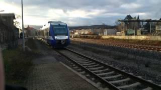 Harz Elbe Express Triebwagen(Ex Nord Ostsee Bahn)