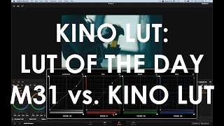 KINO LUT vs. M31 LUT: LUT Of The Day.