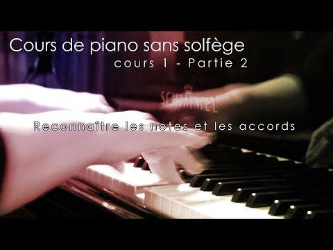 Cours de piano 1 - Partie 3 - Reconnaître les notes et les accords