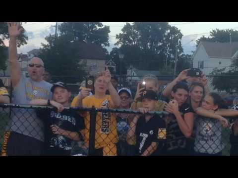 Stadium Sings 'Happy Birthday' To Pittsburgh Steelers' DeAngelo Williams