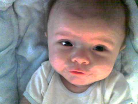 3 Month Old Joseph Growls